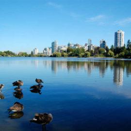 Le parc Stanley a Vancouver